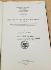 Geology Of The Muddy Mountains, Nevada