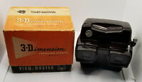 Rare Sawyer's Focusing Brown Bakelite View-Master Stereo Viewer Model D With Box