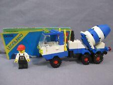 Lego 6682 CONCRETE MIXER w/ instruction manual & Mini Figure 1985 Town Set