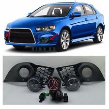 Fog Light Lamps & Harness Switch Kit for Mitsubishi Lancer 2010-2015