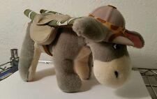 Eeyore Disney Plush Animal Kingdom Park safari costume stuffed toy GUC