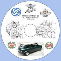 Mini - Austin Morris & Rover Workshop Repair Manual - All Models from 1959-1996