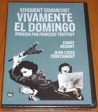 VIVAMENTE EL DOMINGO / VIVEMENT DIMANCHE François Truffaut - Français Español -