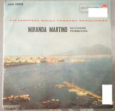 Festival Di Napoli Miranda Martino – Miranda Martino – Solitudine 45 giri NM
