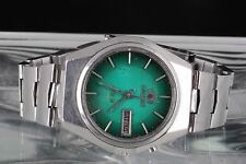 PARTS/ REPAIR ORIENT 21 JEWELS CRYSTAL GREEN DIAL OS469C027D WR WRISTWATCH 3246B