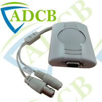 VGA02ZA BNC TO VGA CONVERTER ADAPTER FOR CCTV MONITOR