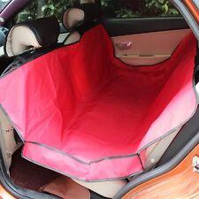 "Dog Hammock Car Seat Cover 3"" raised side guards Waterproof 57""x57"" Red NIB"