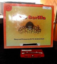 Little Gorilla Story and Picture by Ruth Bornstein Book & Audio Cassette set
