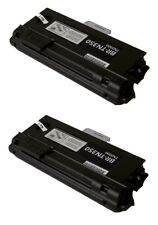 2 Pack TN-350 Toner Cartridge for Brother HL-2040/ 2070 MFC-7220/ 7225/ 7420