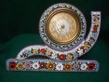 Late 19th Century Italian Micro Mosaic Table Clock