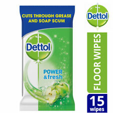 Dettol Power & Fresh Anti Bacterial Multi Action Floor Extra Large 15 Wipes