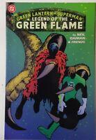 GREEN LANTERN SUPERMAN LEGEND OF THE GREEN FLAME TPB 2000 NEIL GAIMAN