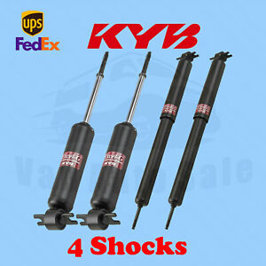 KYB Front Rear Shocks Gas Charged for CHEVROLET Camaro, Z28, IROC 1970-81 Kit 4