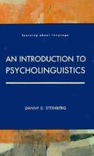 Introduction to Psycholinguistics (Learning About Language)