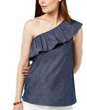 Tommy Hilfiger One Shoulder Ruffled Top Size XL - Plus Size 18. NWT, RRP $99.99.