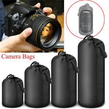 DSLR Néoprène Sac Étui Housse Rangement Protection Objectif Lens Pr Nikon Canon