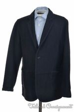 OUR LEGACY Solid Blue Wool Cotton Mens Blazer Sport Coat Jacket EU 52 / US 42 R