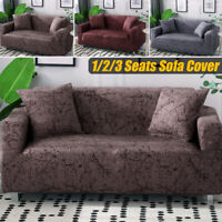 1/2/3/Seater Stretch Sofa Cover Armchair Loveseat Furniture Slipcover Protector