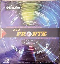 NICE PRICE -->> TT-Belag Avalox/AVX Pronte soft; neu + ovp