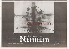 FIELDS OF NEPHILIM For Her Light 1990 UK Press ADVERT 12x8 inches