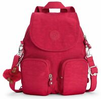 kipling Firefly Up Small Backpack Radiant Red