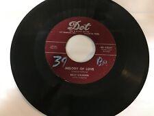 Billy Vaughn; Melody of Love / Joy Ride