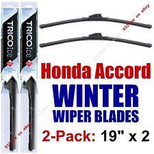 1986-1989 Honda Accord WINTER Wipers 2-Pk Premium Beam Blade Winter - 35190x2