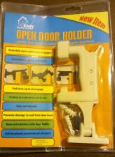 Open Door & Drywall Holder Mount w/ Anchors Self-Drilling safe thermoplastic NIP