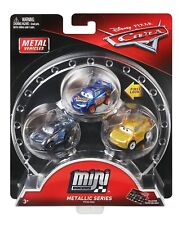 Disney Cars 3 Metallic Series Mini Racers Fabulous McQueen Jackson Storm Cruz