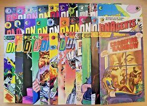 DNAgents 1-11, 14-21, 24, New 2-9 & Crossfire & Rainbow (Eclipse comic run/lot)