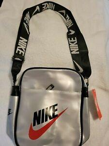 Nike Air Jordan Crossbody Jelly Bag Unisex Black Grey New with Tags Free Ship