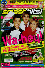 Smash Hits 2002 Busted Atomic Kitten Gareth Gates Blue Oxide and Neutrino
