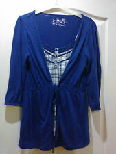PRETTY LADIES BLUE COTTON TOP, SIZE 12 FROM BHS