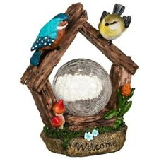 Solar Crackle Ball with Birds-Mushroom- Eye Capturing Decoration For Your Home.
