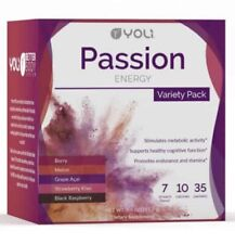 Yoli 35 Variety Passion Packets BRAND NEW!!  5 Flavors