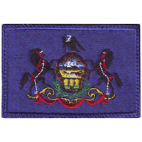Pennsylvania Flag Embroidered Patch