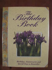 B000KGTMSU The Birthday Book: Birthdays, Anniversaries and Special Days to Remem