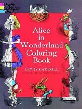 Alice in Wonderland Coloring Book (Dover Classic Stories Coloring-ExLibrary