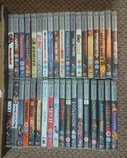 HUGE Sony PSP UMD Movie Bundle x37 Die Hard, Rocky II, Bad Boys, Punisher...