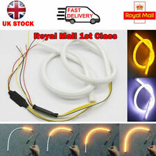 2x 45cm Car LED Strip Light Sequential Switchback Signal DRL Dynamic Indicator