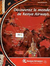 KENYA AIRWAYS ROUTE MAP DECOUVREZ LE MONDE DE KENYA AIRWAYS FRENCH AD
