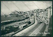 Ancona Città Via 29 Settembre Filovia Foto FG cartolina VK2617