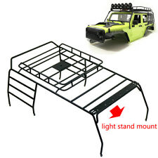 1/10 RC Crawler Metal Roof Luggage Rack Roof Light Stand For AXIAL SCX10 313mm