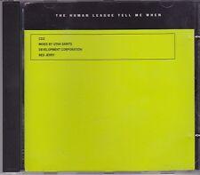 The Human League-Tell Me When  cd maxi single 5 Tracks