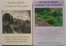 HEXHAM HERBS A GUIDE TO THE GARDEN NORTHUMBERLAND.S/B,PHOTOS,LIST OF PLANTS