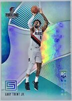 2018-19 Panini Gary Trent Jr. Rookie Card RC Aqua Teal Green Prizm Trail Blazers