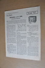 Taylor model 171A circuit and test report Vintage Service Manual Circuit Diagram