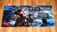 God of War Large Game Store Vinyl Banner Poster Playstation 4 PS4 Collectible