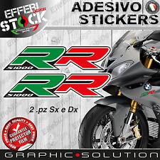 Adesivi/Stickers compatibili BMW S 1000 RR 08 16 HP4 MOTORRAD ITALY TOP QUALITY!