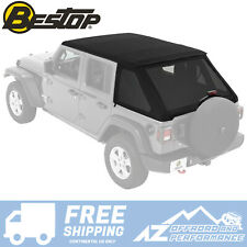 Bestop Trektop™ NX Soft Top 18-20 Jeep Wrangler JLU 4 DR 56863-35 Black Diamond